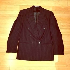 Yves Saint Laurent Suit Jacket 100% Wool